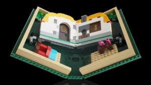 Создание книжки конструктора Lego