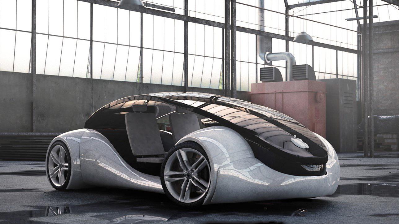 Беспилотный автомобиль Apple