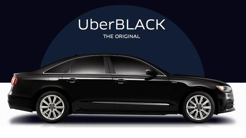 UberBLACK — это поездки премиум-класса с профессиональными водителями.