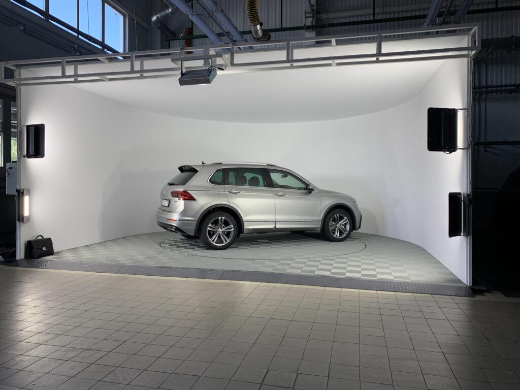 3D съемка автомобилей