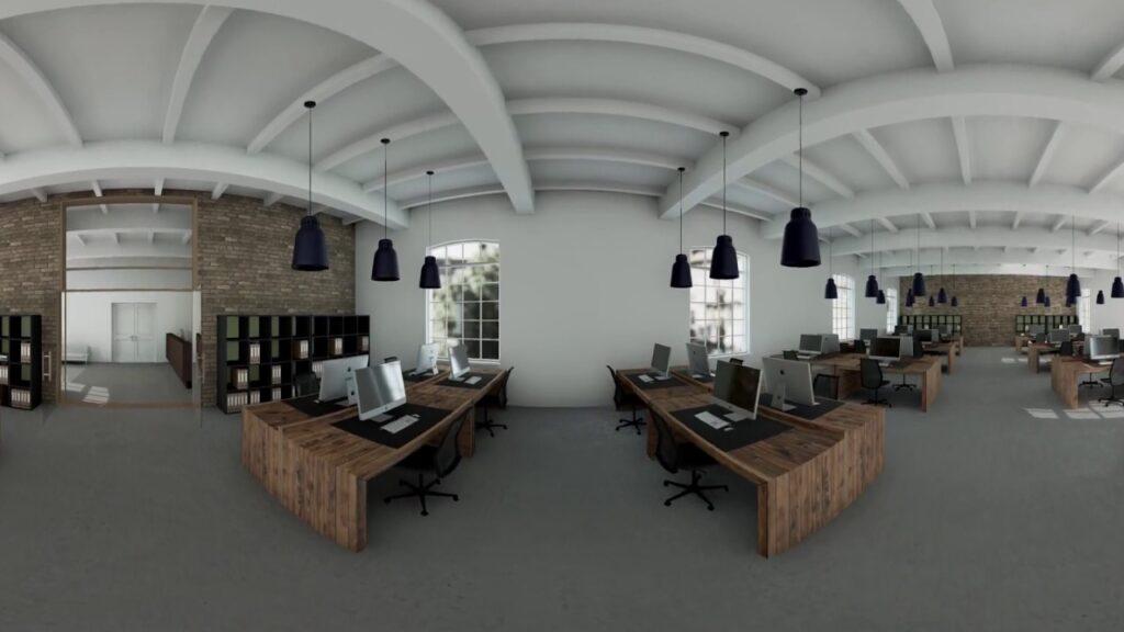 Панорамное фото офиса