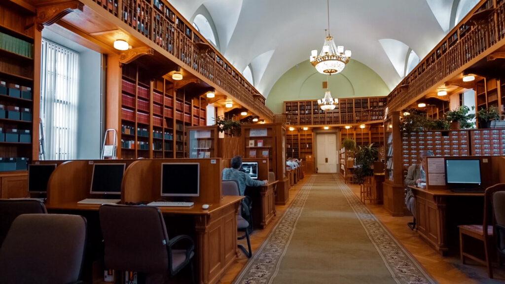 Виртуальный тур по библиотеке