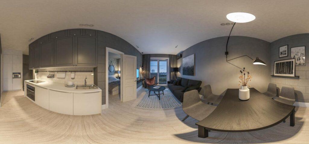 Виртуальный 3D тур по квартире