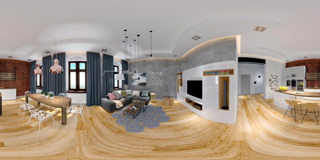 Панорамы 3D квартир