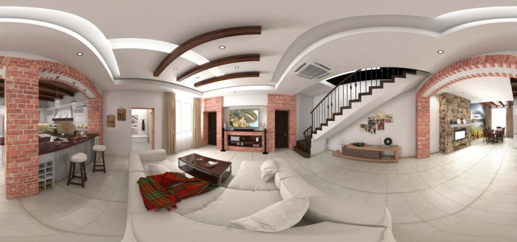 Съемка недвижимости 360 градусов