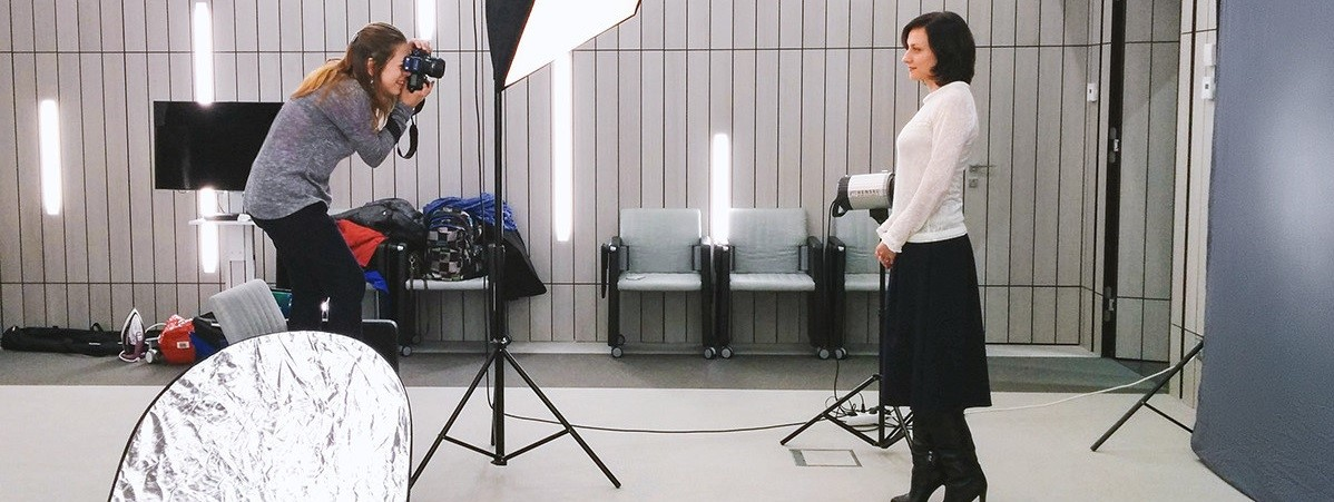 Съемка видео в студии