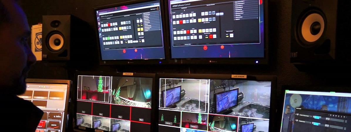 Съемка прямой трансляции